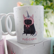 Pugicorn full colour boxed Sophie Corrigan exclusive for Cupcake Pug co Collab mug