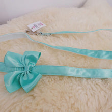 Pimp My Pug Turquoise Tiffany leash to match Tiffany Harness