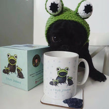 Frugspawn full colour boxed Sophie Corrigan x Cupcake Pug Co collab mugs