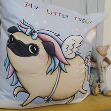 My Little Puggy - Fawn ! Sophie Corrigan collab cushion