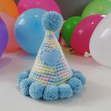"Hand Crocheted Pooch Party Hats - ""Norris"""