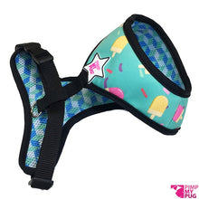 Pimp My Pug Blue Lolly Ice Reversible harness