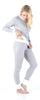 Sleepyheads Women's Sleepwear Lightweight Striped Knit 2-Piece Pajamas PJ Set