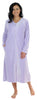 Sleepyheads Minky Fleece Zip Robe in Lilac