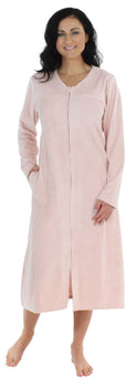 Sleepyheads Minky Fleece Zip Robe in Peach