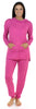 Sleepyheads Women's Cowlneck Pajama in Light pink