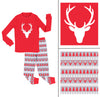 SleepytimePjs Red Holiday Family Matching Fair Isle Deer Pajama Sets