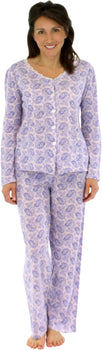 Sleepyheads Women's Longsleeve Cotton Pajamas