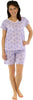Sleepyheads Women's Shortsleeve and Shorts Cotton Pajamas