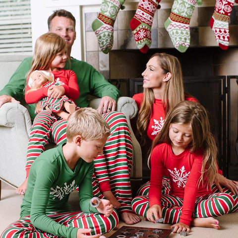 e59ff7ec5e SleepytimePjs Christmas Stripes Family Matching Pajamas for the Family ...