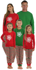 SleepytimePjs Christmas Stripes Family Matching Pajamas for the Family