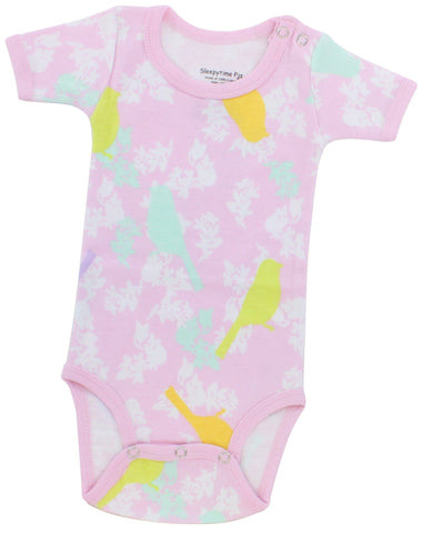SleepytimePjs Infant Creeper in Sunny Bird