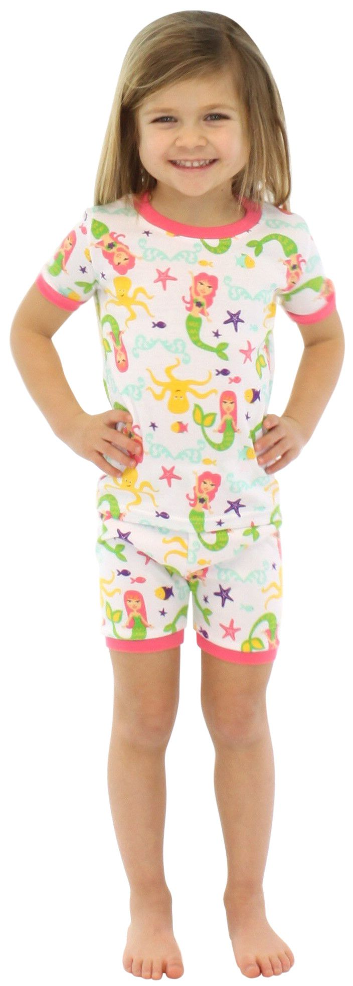 SleepytimePjs Kids Shorts & Tee Pajama Set