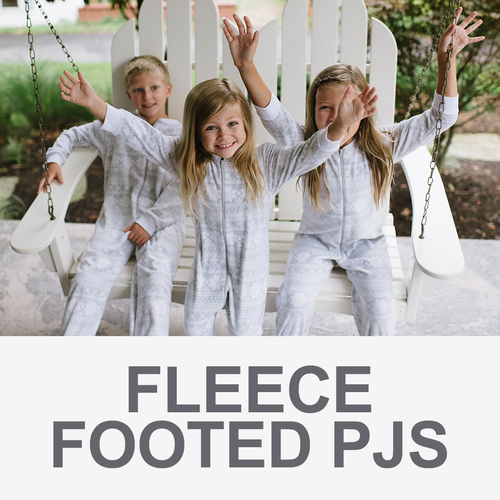 Fleece Footed PJs