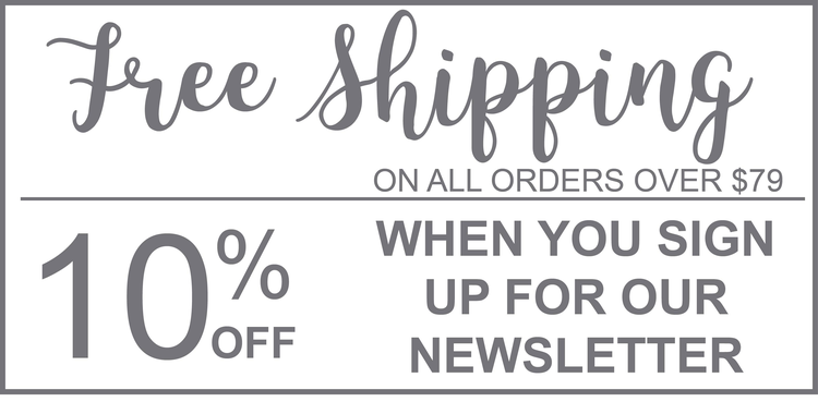 Free Shipping on Orders Over $79