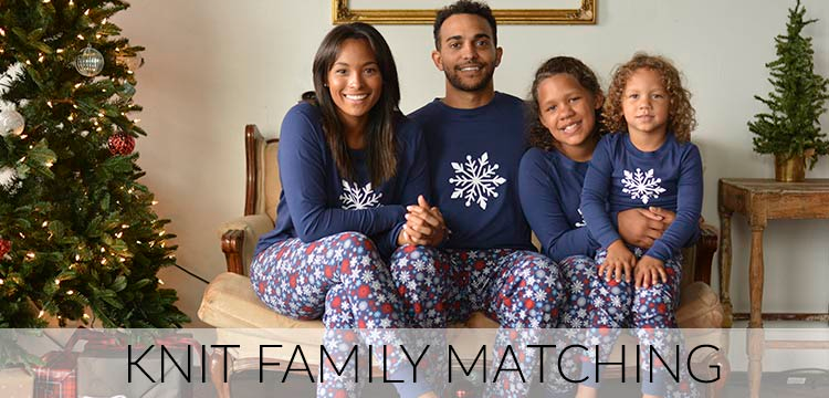 Knit Family Matching