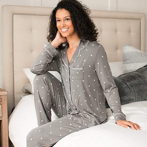 Long Sleeve <br> Pajamas