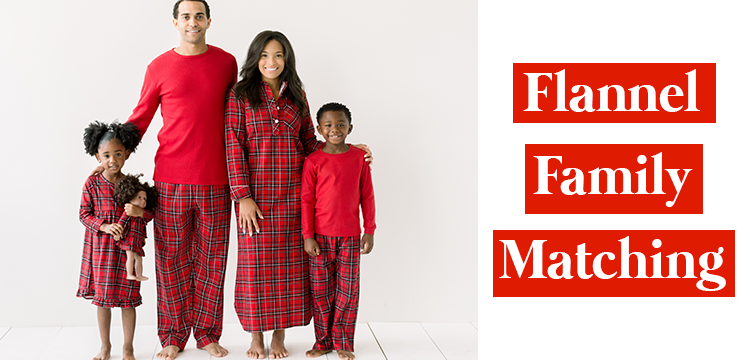 Flannel Family Matching Pajamas