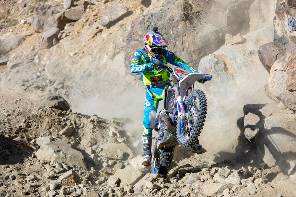 Cody Webb Backed Rider came out on top of the 2020 King of the Motos results in his Sherco debut.