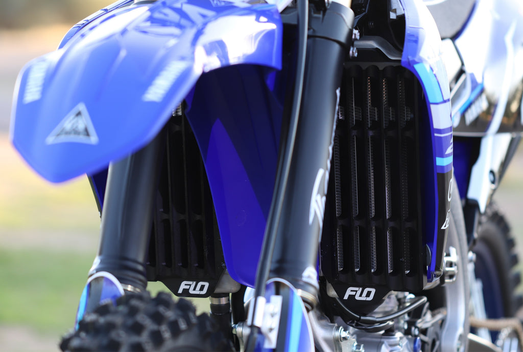 Yamaha YZ450F YZ450FX  YZ250F YZ250FX Radiator Guards Installation