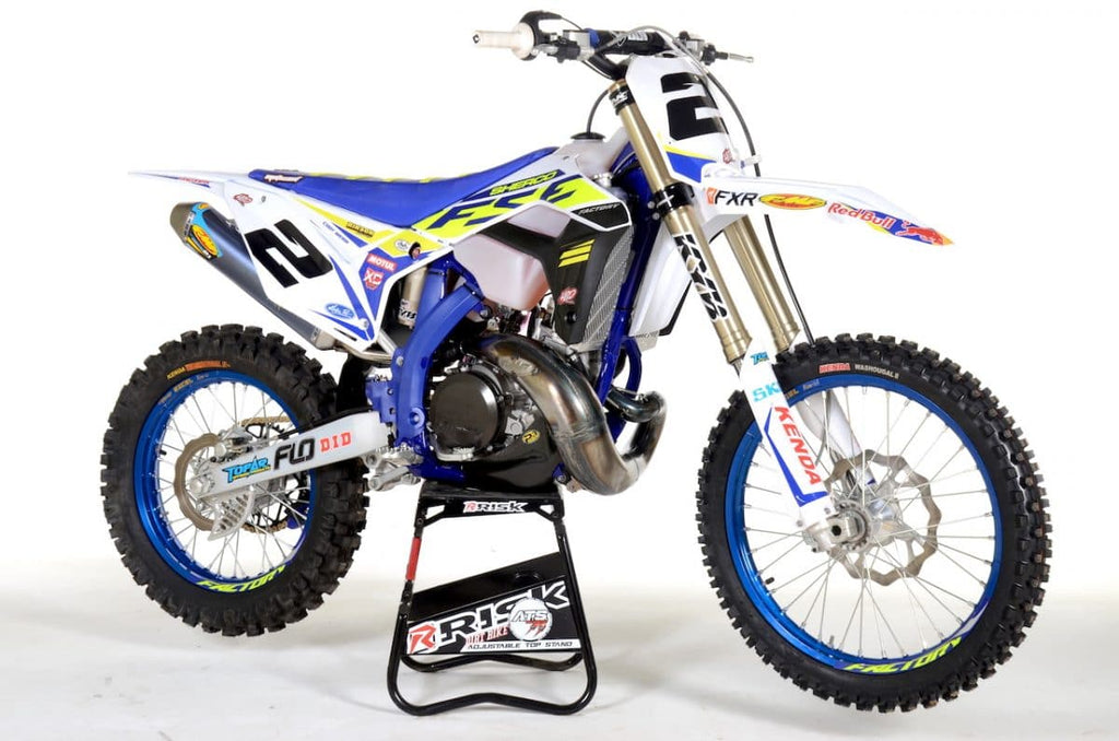 Cody Webb's 2020 Sherco Factory SE300. Featuring Flo Motorsports Foot Pegs