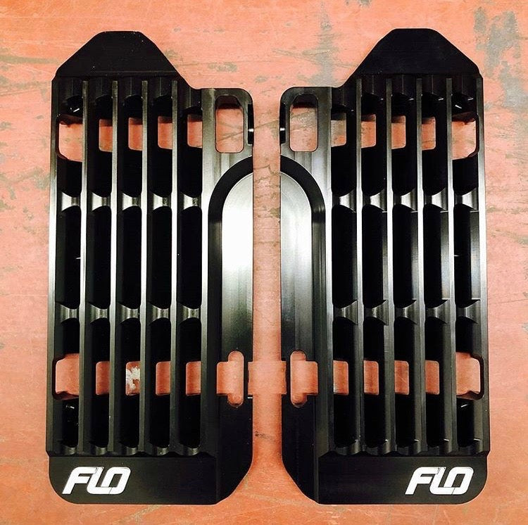 High-Flow Motocross Radiator Guards by Flo Motorsports