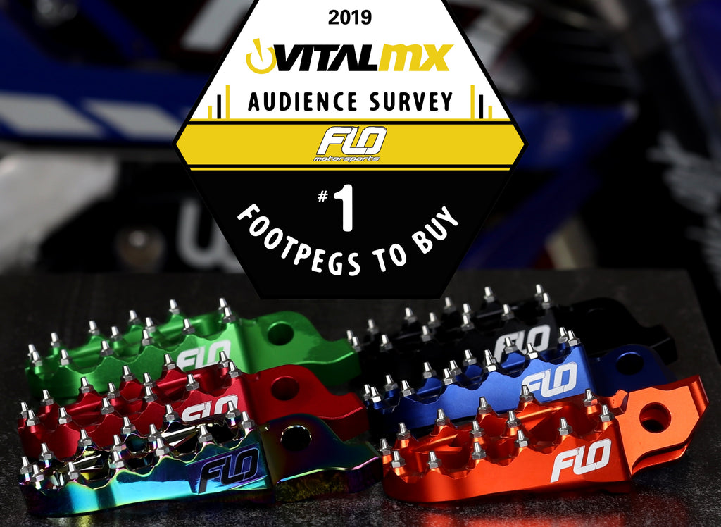 Rated #1 and Most Popular Footpegs on the Market Today!