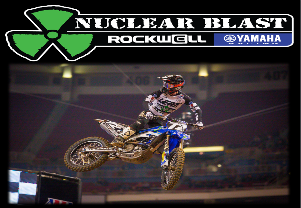 Flo Motorsports Proud Sponsor of The Nuclear Blast Rockwell Yamaha Racing Team