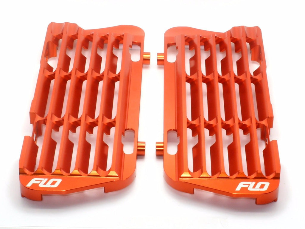 FLO MOTORSPORT KTM and HUSQVARNA RADIATOR BRACE/GUARD