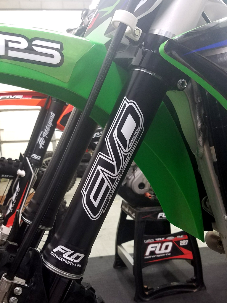Flo Motorsports 360 Upper Fork Guards