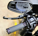 HARLEY TOURING MODELS MX STYLE LEVERS 2008 - 2013