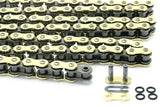 Dirt Bike Oring Chain Heavy Duty Gold O-Ring  520/120 Link Flo motorsports