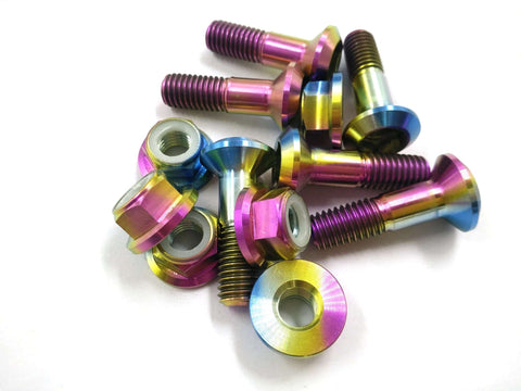 Titanium Sprocket Bolt and Nut Kit  TI