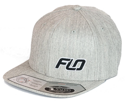 Flo Heather Gray Genuine FlexFit SNAPBACK Hat