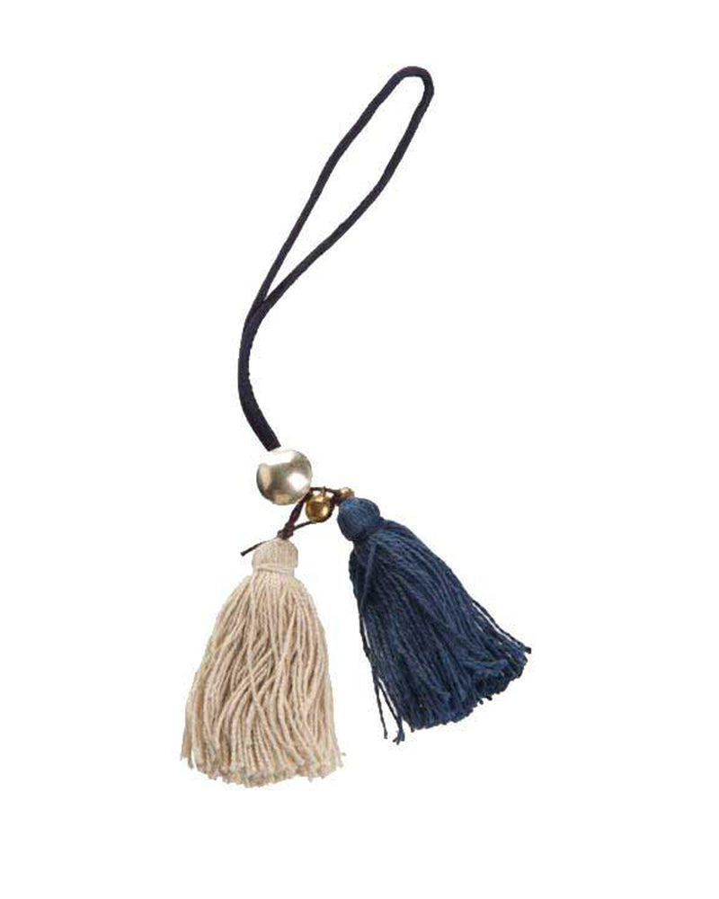 Hemp Tassel Bag Charm