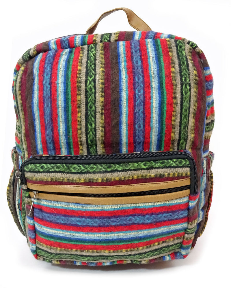 Brushed Cotton Gheri Backpack