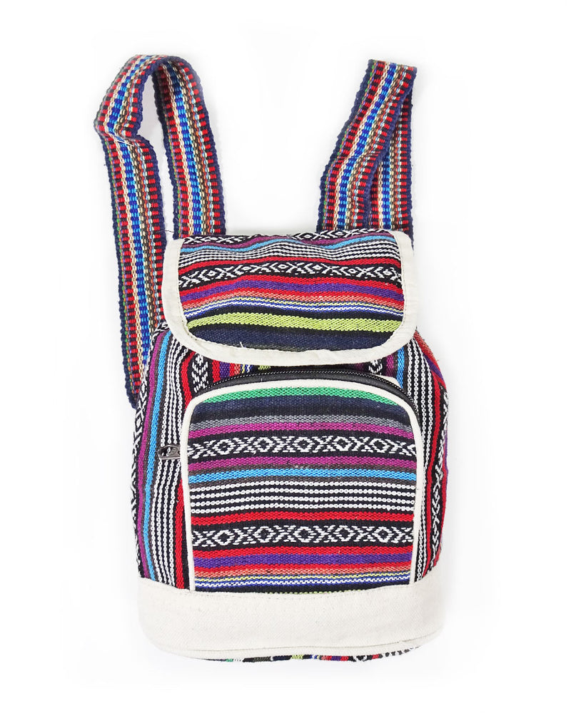 Cotton Gheri Baby Backpack