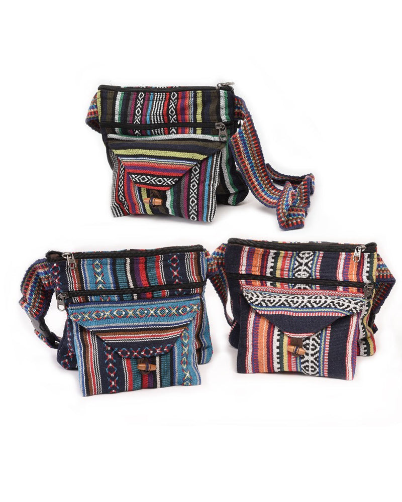 Gheri Cotton Hip Pouch