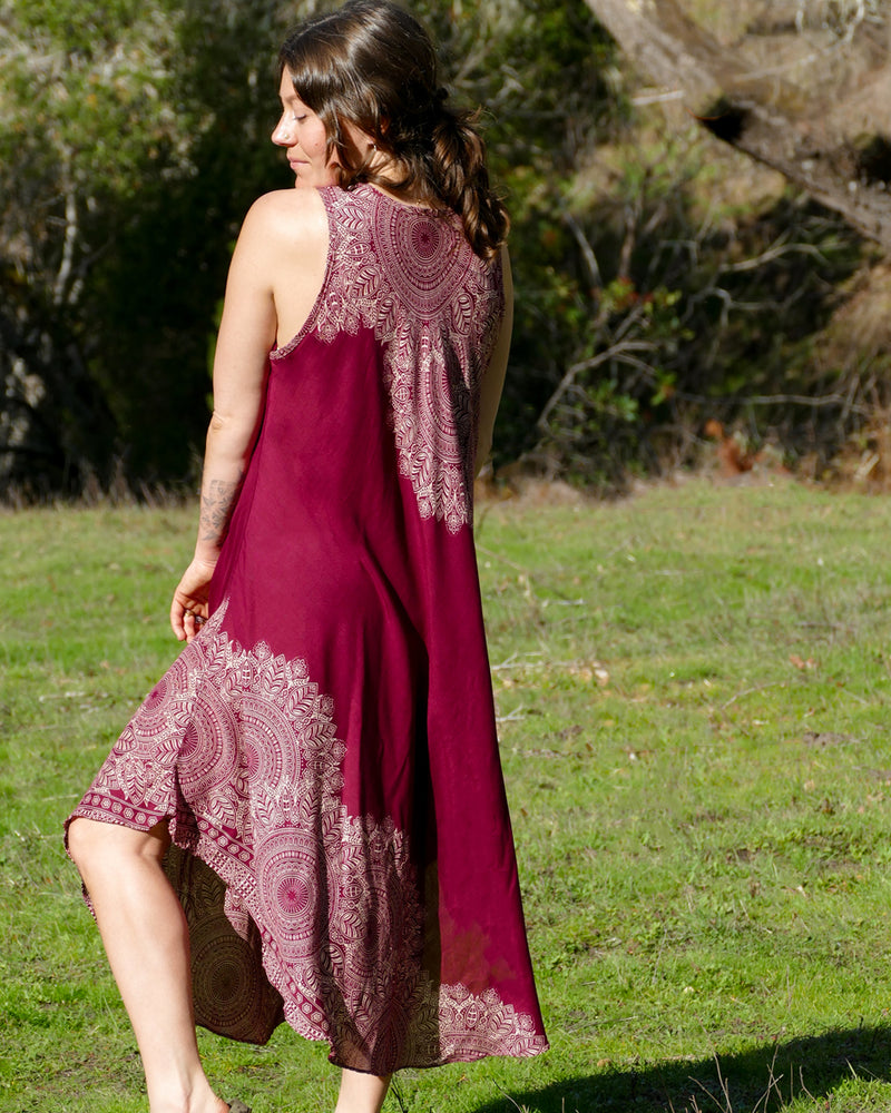 Feather Mandala Dress