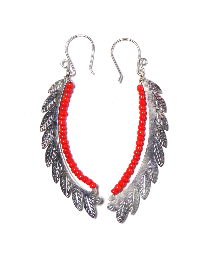 Colorful Leaf Earring