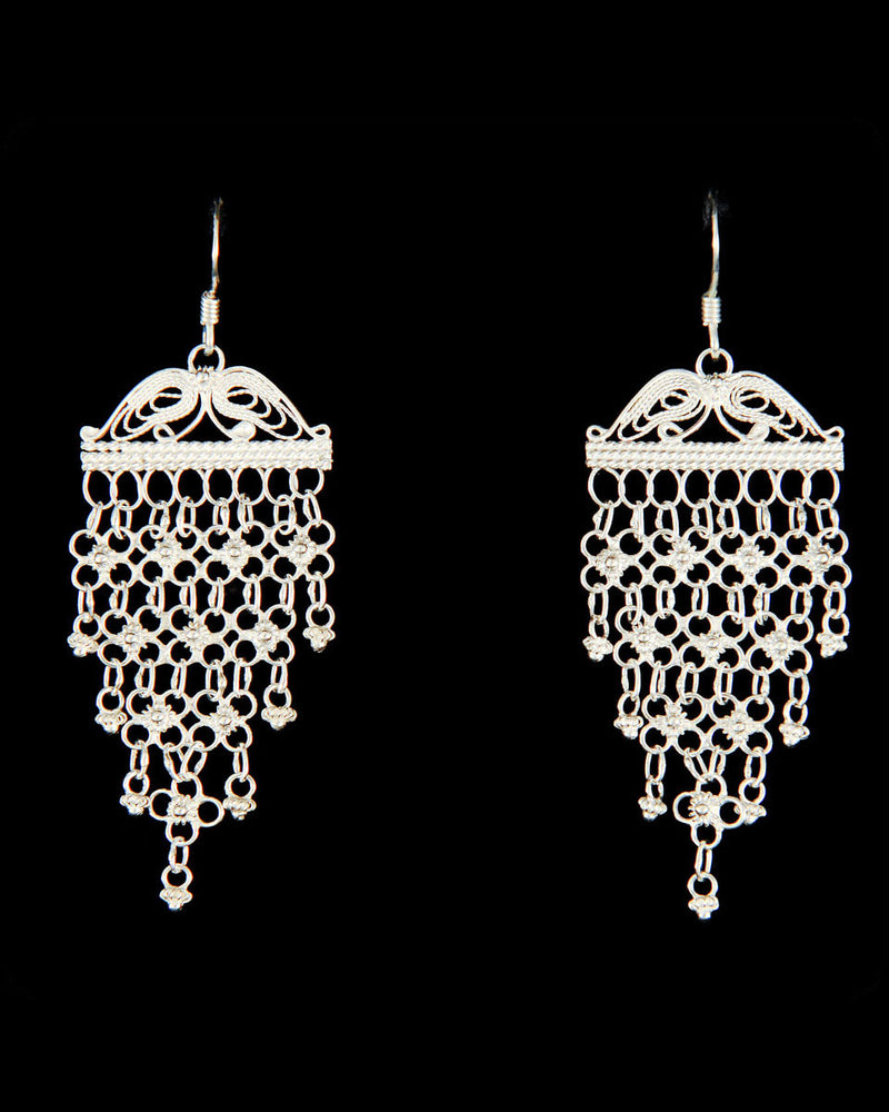Filigree Earring - Lace