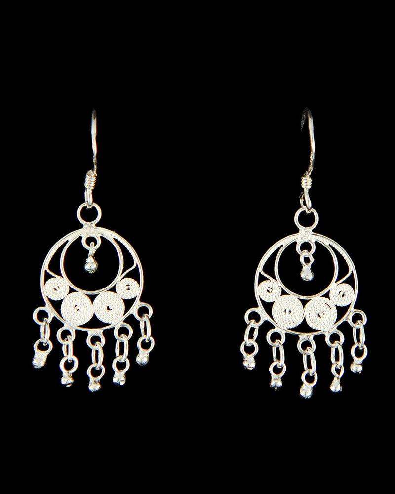 Simple Filigree Earring