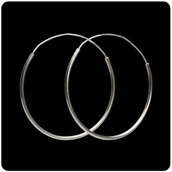 Plain Large Hoop Earring