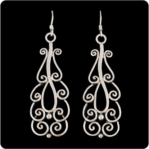 Tiered Spiral Earring