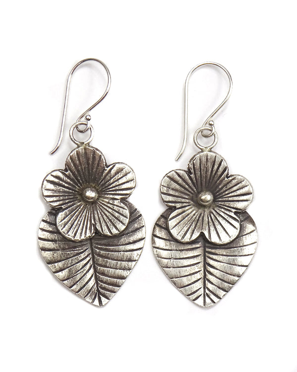 Tribal Magnolia Earrings