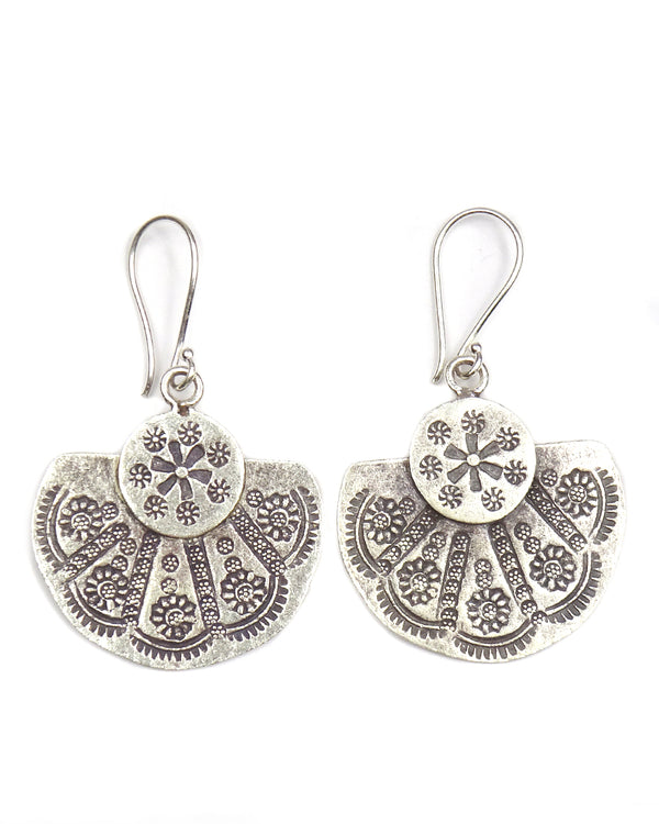 Tribal Fan Earring