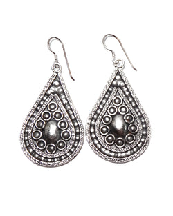 Tribal Earring - Detailed Tear