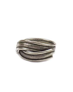 Bamboo Wrap Tribal Ring