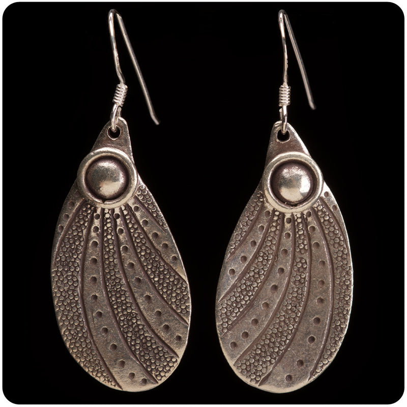 Tribal Teardrop Earring
