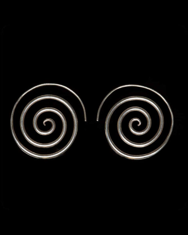 Open Spiral Earrings